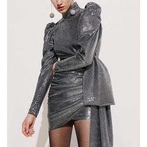 cae96e36e83 Ashoreshop Women Cold Weather Sparkling Dress